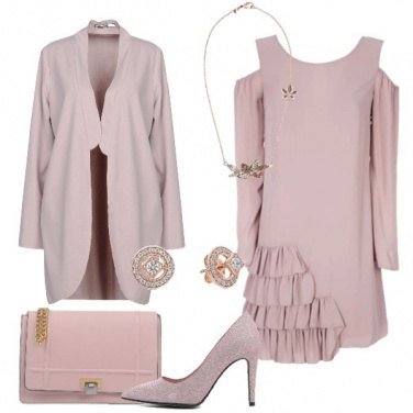 Outfit Solo rosa