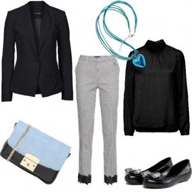 Outfit Azzurro nel cuore