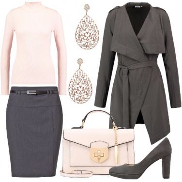 Outfit Eleganza basilare in ufficio