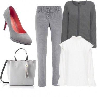 Outfit Grigiore fashion