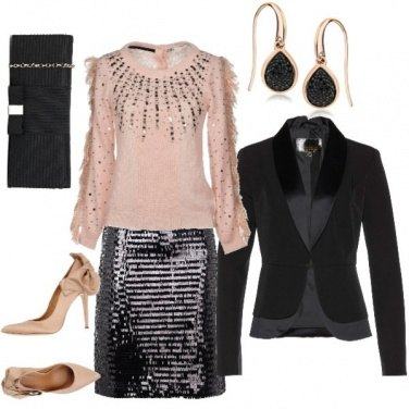 Outfit Stasera brillo