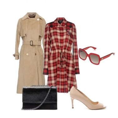 Outfit Autunno in tartan