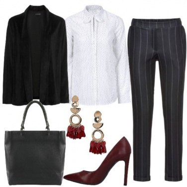 Outfit Blazer vellutato