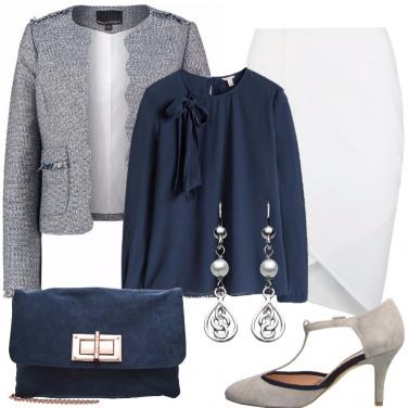 Outfit Bon ton per un party