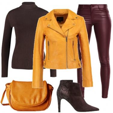 Outfit Salutando l\'inverno in giallo