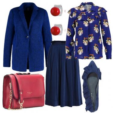 Outfit Accenni di rosso