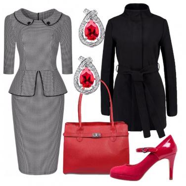 Outfit Bon ton con tocchi glam