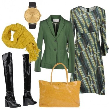 Outfit Accessori colorati per l\'abito fantasia