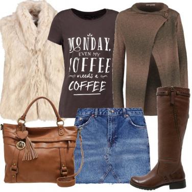 Outfit Mini di jeans