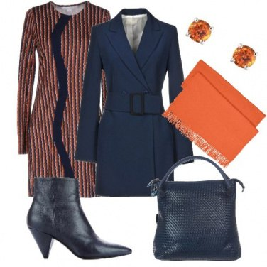 Outfit Eleganza sui toni dell arancio