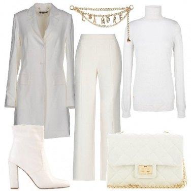 Outfit Bianco sofisticato