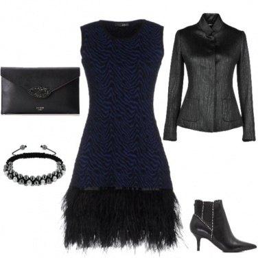 Outfit Piume di struzzo