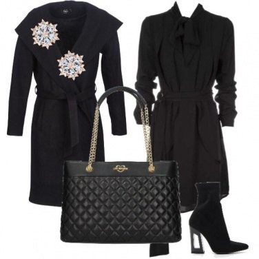 Outfit Total BLACK CHIC!