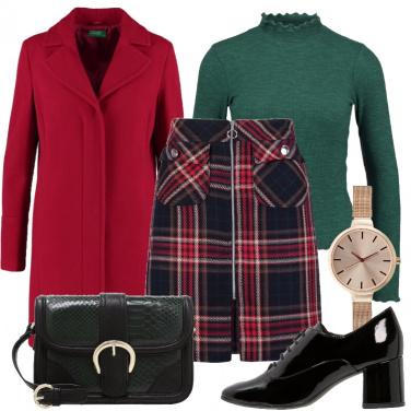 Outfit Sempre attuale la gonna scozzese