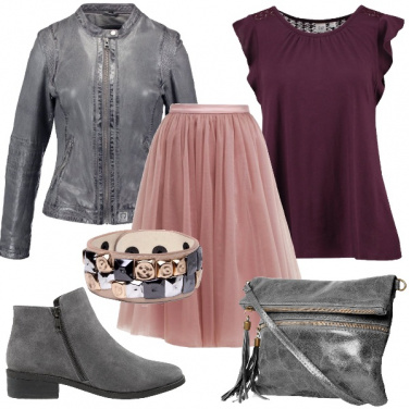 Outfit Una rocker sognatrice