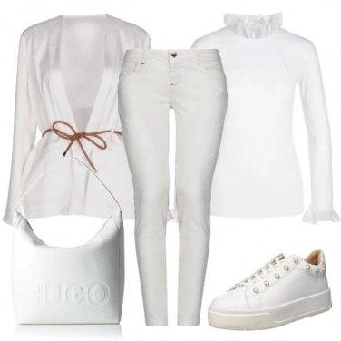 Outfit Bianco per il giorno