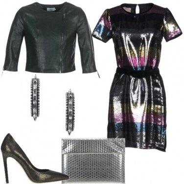 Outfit A ballare con le paillettes