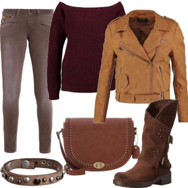 Outfit Rock alternativo