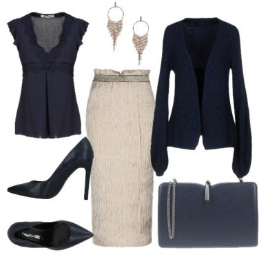 Outfit Longuette beige