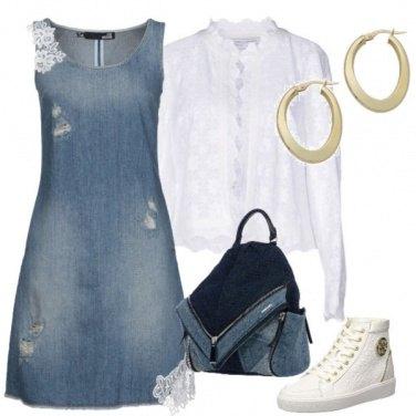 Outfit Con il jeans ma con stile