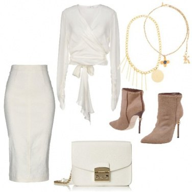 Outfit Total white avorio
