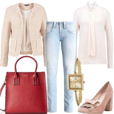 Outfit Rosa e non solo