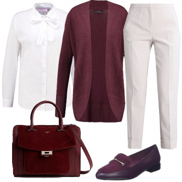 Outfit Comodo stile bon ton