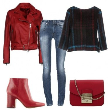 Outfit Rosso pret-a-porter