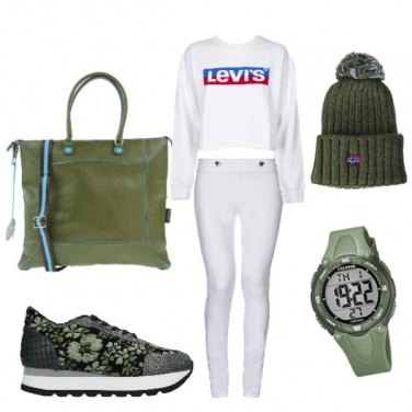 Outfit Green life