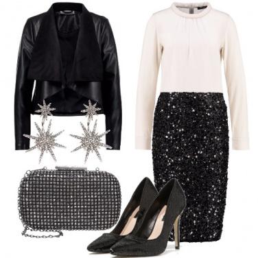 Outfit Obiettivo: paillettes