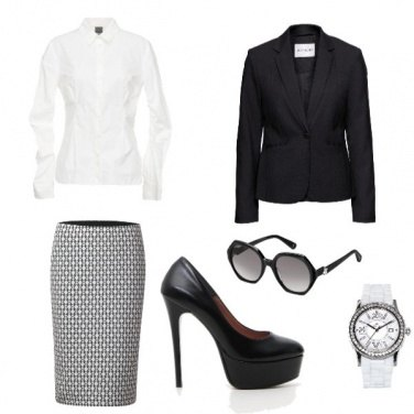Outfit Iron lady
