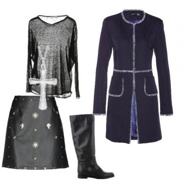 Outfit Donna rock