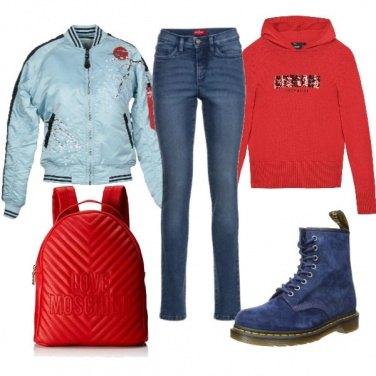 Outfit Ripararsi dal freddo