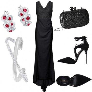 Outfit Brillante sul nero