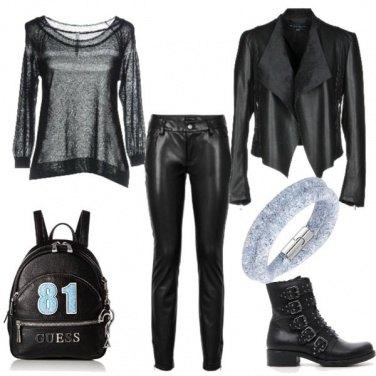 Outfit Braccialetto azzurro