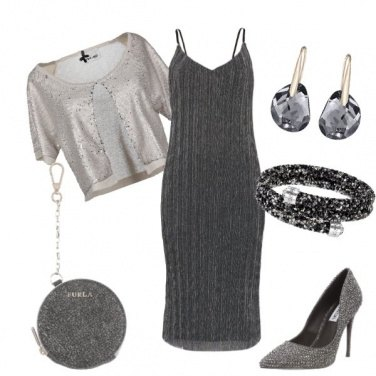 Outfit Una miriade di paillettes