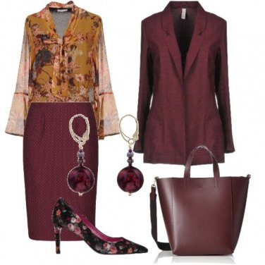Outfit Autunno in fiore