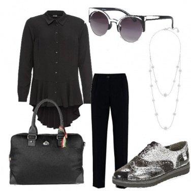 Outfit Nero d\'ufficio