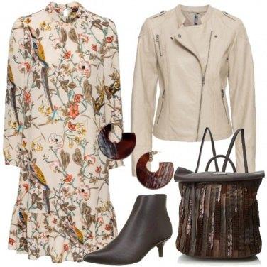 Outfit Il vestitino botanical