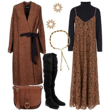 Outfit Lace long dress