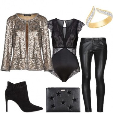 Outfit Stivaletto glam
