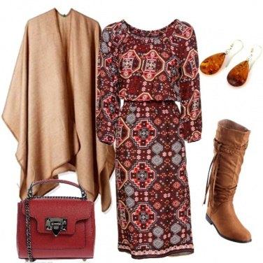 Outfit Stivali e mantella