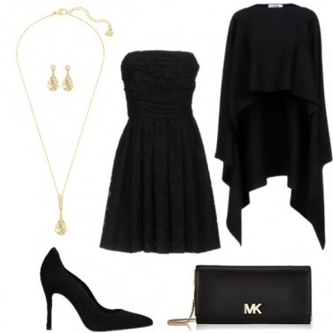 Outfit Nero chic!!