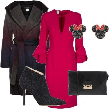 Outfit Serata Red, black