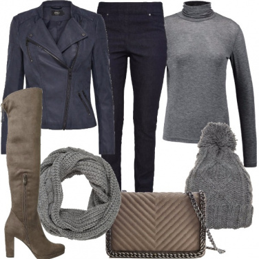 Outfit Chiodo e cuissardes