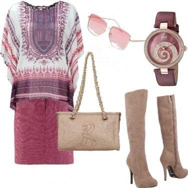 Outfit Blusa estiva... In autunno