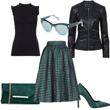 Outfit Verde brillante