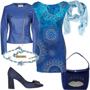 Outfit Tonalità azzurre