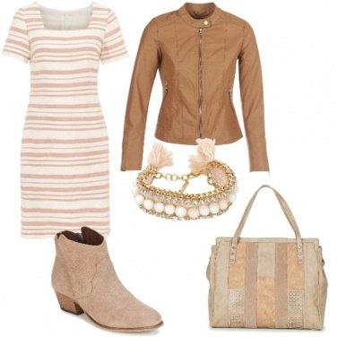 Outfit Righe verticale e orizzontali