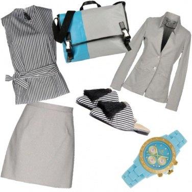Outfit Segretaria con Glam